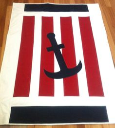 Nautical Baby Quilt Pattern PDF baby quilt by BlackTulipQuilts2, $10.00
