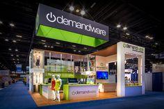 Demandware booth at IRCE 2014 / Internet Retailer #tradeshow