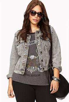 Forever21 Plus Size Denim Jacket