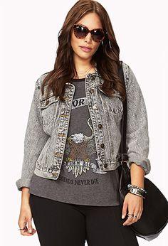 Forever21 Plus Size Denim Jacket