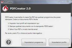 PDFCreator 2 - Unire più file PDF in un unico documento