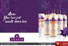 """There's more to life than hair... but it's a good place to start"". AUSSIE Hair Products give you naturally beautiful hair, with no worries!  Buy Authentic products from - www.TheMallBD.com To Order Now, Call: 01977300901, 01977300902"