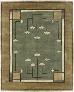 Ginkgo (PC-21B) 8 x 10 Area Rug by the Persian Carpet