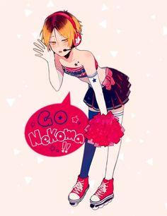 please cheer for me in my upcoming finals Haikyuu Karasuno, Haikyuu Manga, Haikyuu Funny, Haikyuu Fanart, Kagehina, Kenma Kozume, Kuroken, Haikyuu Characters, Anime Characters