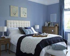 Royal Blue Bedroom Ideas | Blue Bedroom Decorating