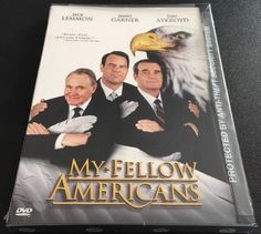 New My Fellow Americans DVD Jack Lemmon James Gardner Dan Aykroyd Classic | eBay