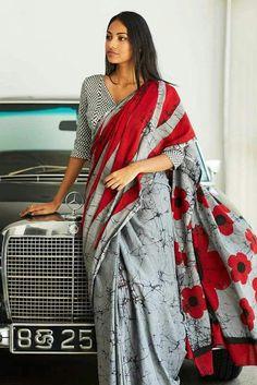 Latest Cotton Sarees | ElegantFahionWear