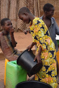 Collecting Water. Togo