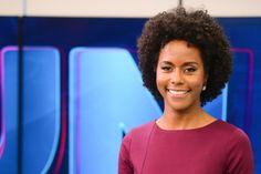 Maria Júlia Coutinho é vítima de racismo nas redes sociais