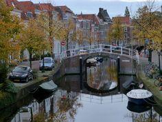 Autumn in the city of Leiden, Netherlands, via Flickr.