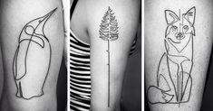 One Continuous Line Tattoos By Iranian-German Artist Mo Ganji | Bored Panda