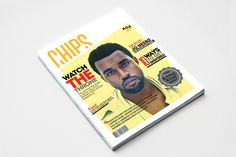 CHIPS Magazine by Hans-Jørgen Løken, via Behance