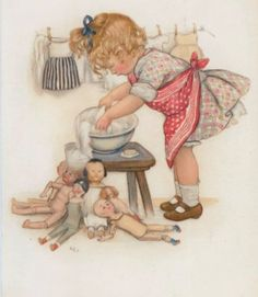 Susan Beatrice Pearse (British, 1878-1980) was a prolific illustrator of children's books, postcards and greeting cards. She was best known for her Ameliaranne books and an iconic poster for the Start Rite shoe company.