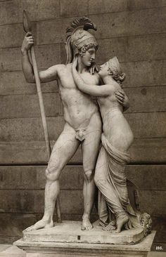 Venus and Mars. Antonio Canova. Italian. 1757-1822.  http://hadrian6.tumblr.com