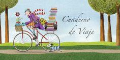 Cuaderno de viaje. Ilustración de Mónica Carretero
