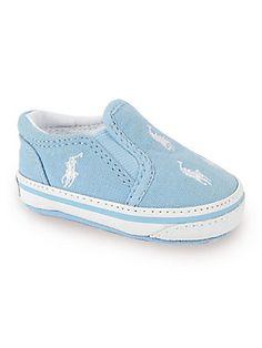 Ralph Lauren Infant's Bal Harbour Repeat Slip-On Sneakers