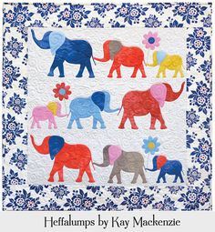 Heffalumps Wall Quilt Pattern