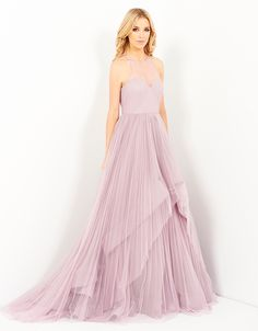 AGIA TULLE BALL GOWN - Dresses-Formal : Bariano - Fashion Designer Australia - BARIANO 15 SUMMER