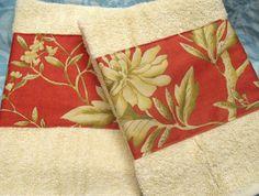 Custom Decorated Hand Towel Set   Ralph Lauren by Sew1Pretty, $17.00