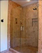 Corner shower tile ideas standing shower bathroom ideas bathroom bathroom and shower tile designs bathroom corner . Small Bathroom With Shower, Modern Bathroom Tile, Bathroom Design Small, Shower Bathroom, Bathroom Ideas, Shower Ideas, Modern Shower, Bathroom Interior, Tile Showers