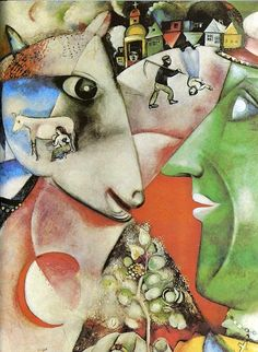 Marc Chagall He has such a beautiful take on our relationship with a animals.