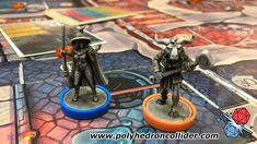 Wildlands miniatures from Osprey Games and Martin Wallace