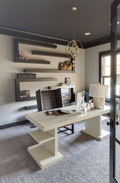 Office Design By: Twigs Interiors  Overland Park, KS