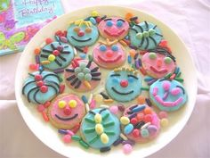 Recipe Iced Biscuits Decorated With Sweets - A Great Activity For Kids ! by FOOD, FUN & FARM LIFE IN EAST AFRICA !
