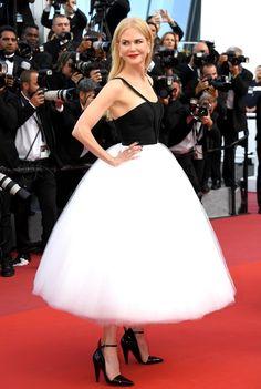Nicole Kidman en Calvin Klein By Appointment et bijoux Harry Winston