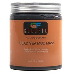 Dead Sea Mud Mask For Face Acne Oily Skin & Blackheads Best Clay Facial Mask Treatment for Pore Minimizer & Cleanser SPA Effect. 250 ml. Read more at the photo web link. (This is an affiliate link). Natural Acne Treatment, Skin Care Treatments, Overnight Acne Remedies, Dead Sea Mud, How To Treat Acne, Natural Face, Best Face Products, Smooth Skin, Mushrooms