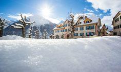 Winterferien im Berghotel Meisser in Guarda im Engadin in der Schweiz: Hotel Meisser Guarda, Engadin