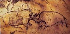 La ocupación Gravetiense posterior, que se produjo hace 25.000 a 27.000 años, dejó poco pero la huella de un niño, los restos carbonizados de chimeneas antiguas y manchas de humo de carbono de las antorchas que iluminaban las cuevas.