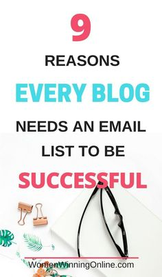 As a beginner blogger do you need to start an email list right away? You betcha! Check out these 9 reasons why email marketing is an important part of your blog's success. #emailmarketing #emailmarketingdesign #emailmarketingexamples #emailmarketingtips #emailmarketingstrategy #bloggingemailmarketing
