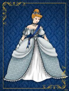 Queen Cinderella- Disney Queen designer collection by GFantasy92 on deviantART