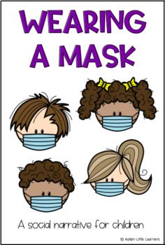 This free story is for children who may need to wear a mask in public due to It is important to prepare children for big changes in these unprecedented days. Please feel free to distribute and share as needed. Please give credit to Autism Little Learners. Preschool Classroom, Preschool Learning, In Kindergarten, Preschool Activities, Social Skills Activities, School Social Work, Beginning Of The School Year, Social Emotional Learning, Little Learners