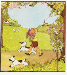 Rie Cramer Het jaar rond editie 1978 ill   voorjaar