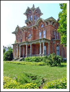 Coldwater's Mansion Victorian Mansion