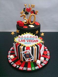 las vegas birthday cakes - Google Search