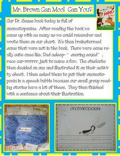 Golden Gang Kindergarten: Dr. Seuss
