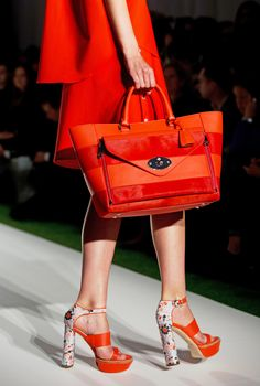 Mulberry Spring Summer 2014. Devil is in the details...work it!!