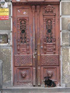 Door in Gdansk, Poland