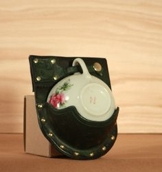 Teacup Holster by OwlVsOctopus on Etsy, $60.00