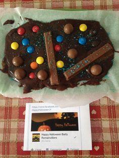 Halloween Tablette de Chocolat Ensorcelées