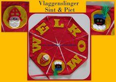 Vlaggetjes Sinterklaas