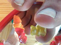 mirrored toes and gummybears 5 by Netsrot1971.deviantart.com on @DeviantArt