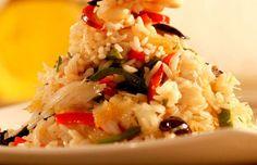 How to make Portuguese cod rice (arroz de bacalhau).