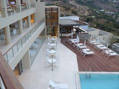 Main Pool / bar - Picture of Lindos Blu Luxury Hotel & Suites - Tripadvisor Greece Hotels, Pool Bar, Hotel Suites, Restaurants, Greece Travel, Hotel Reviews, Trip Advisor, Vacation, Luxury