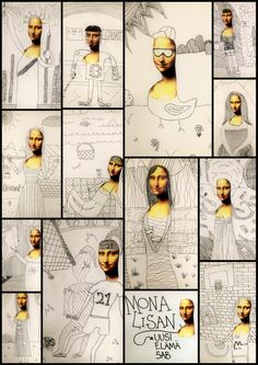 The Renaissance - Mona Lisa& new life. Art Lessons For Kids, Art Lessons Elementary, Art For Kids, Art Sub Plans, Art Lesson Plans, High School Art, Middle School Art, Classe D'art, 5th Grade Art