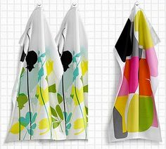 print & pattern blog features tea towels by H&M