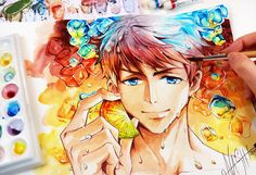 Sousuke Ice Crush by Naschi on DeviantArt http://naschi.deviantart.com/art/Sousuke-Ice-Crush-604543618